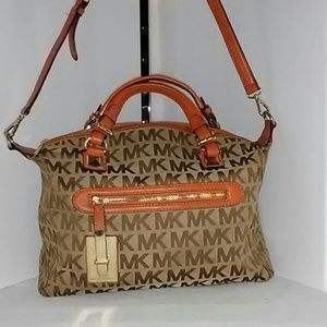 Michael Kors signature shoulder strap Satchel bag